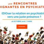 Rencontre des soignants en psychiatrie –  18 Octobre 2018