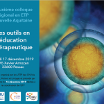 affiche du colloque ETP à Bordeaux