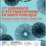 17ème université d'été francophone en santé publique